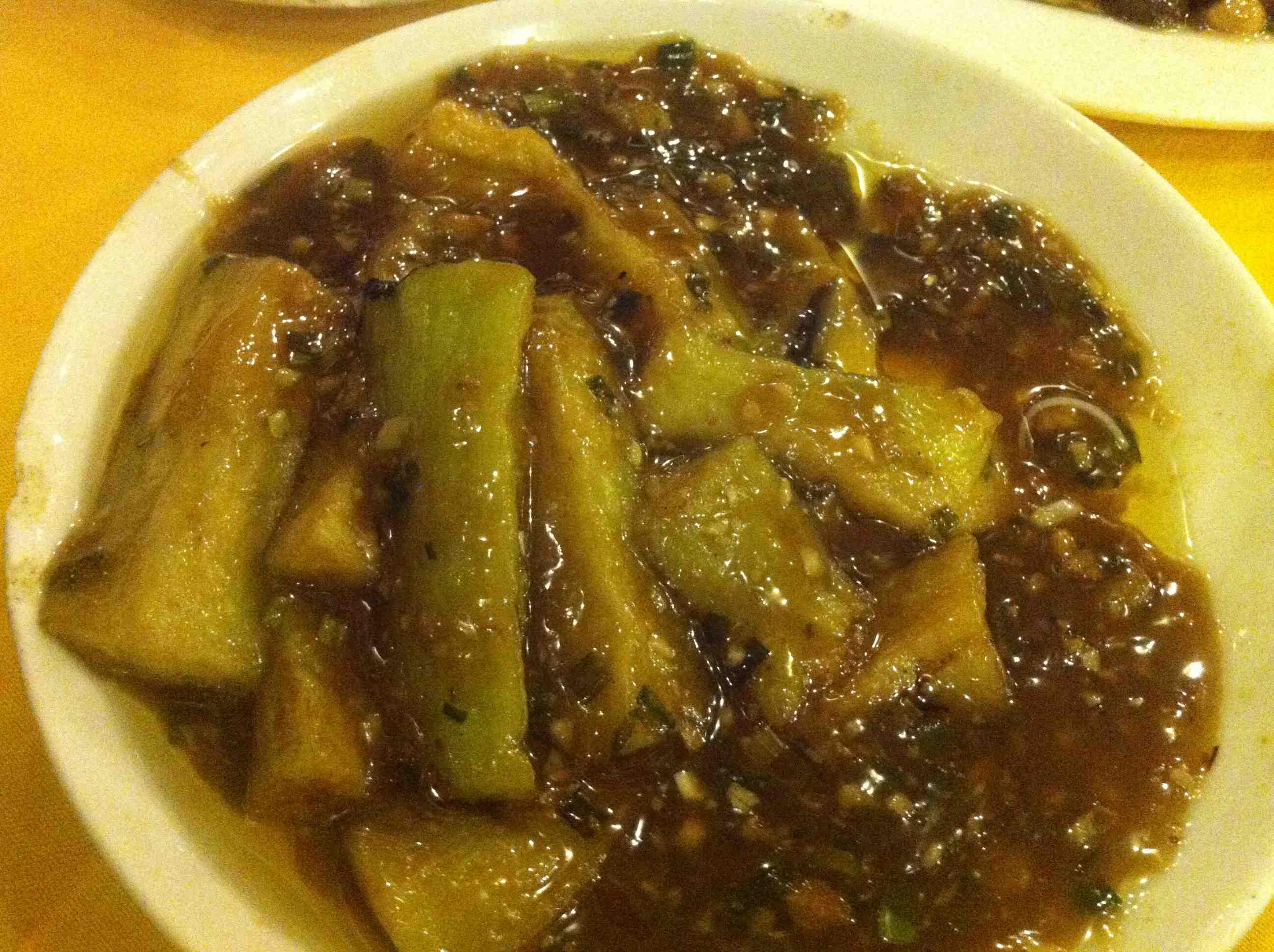 Jie Zi - die Melanzani mit (angeblichem) Fischgeschmack
