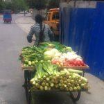 Dreirad China Gemüse