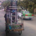 Dreirad China Kleiderständer