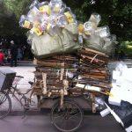 Dreirad China Überladen