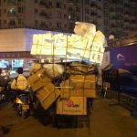 Dreirad China Schachteln