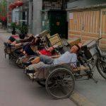 Dreirad China Schlafen